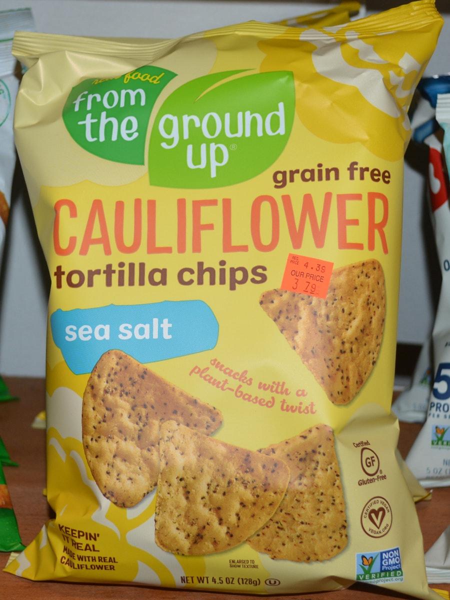 Ground Up Cauliflower Tortilla Chips