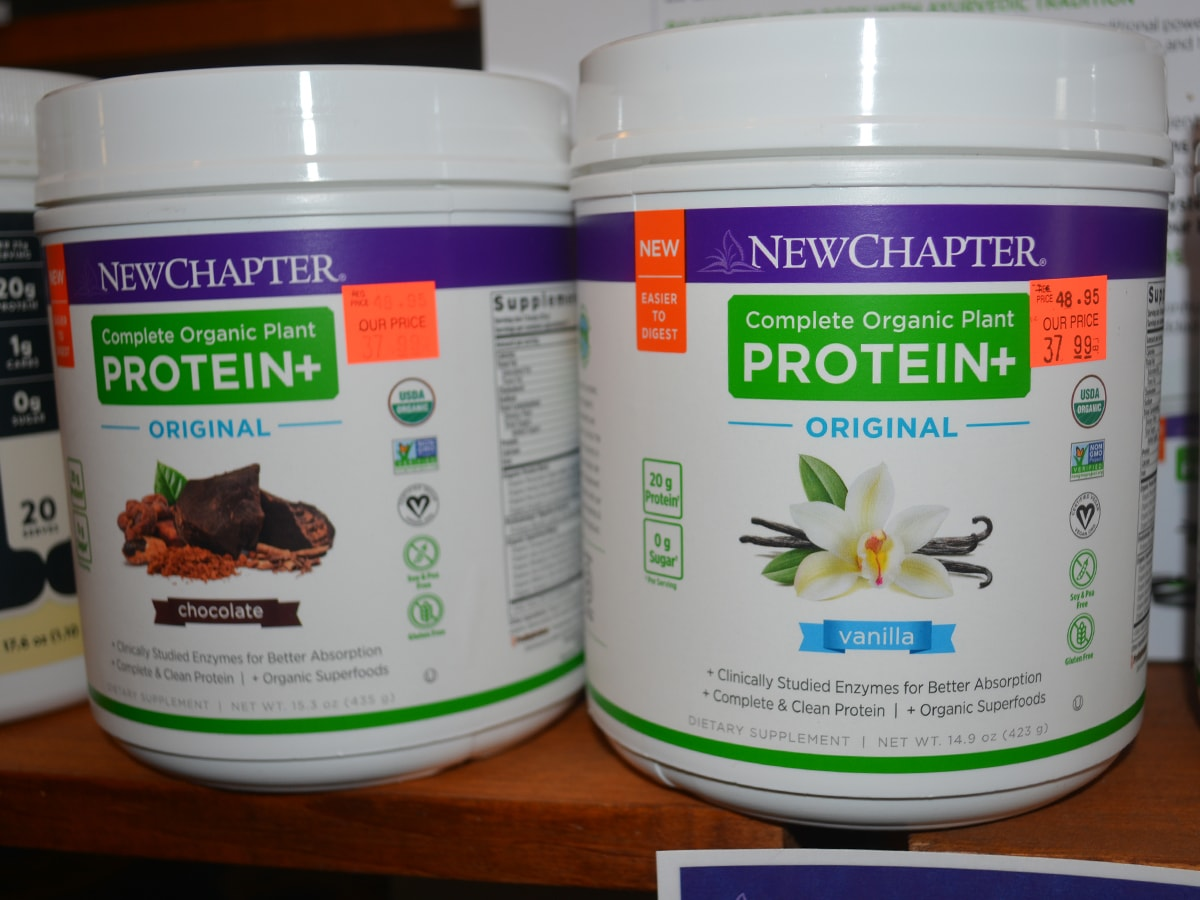 New Chapter Organic Plan Protein