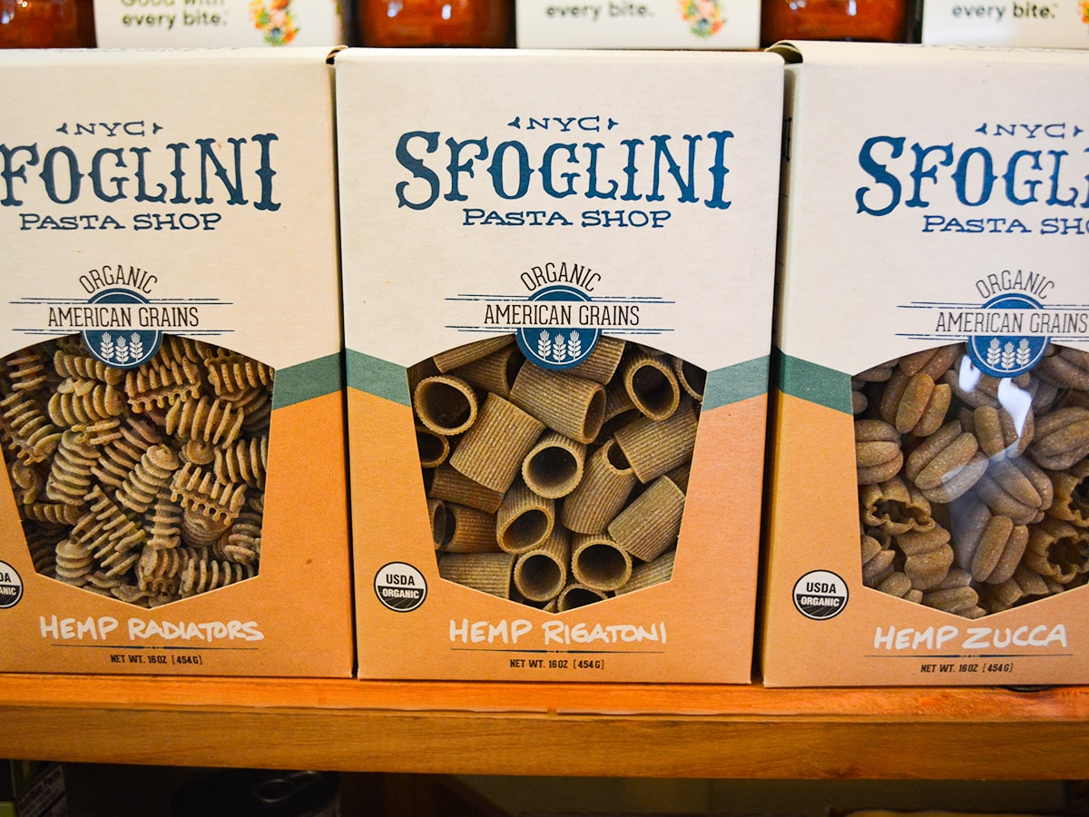 Sfoglini Pasta Shop Hemp