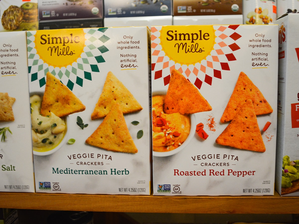 Simple Mills Veggie Pita Crackers