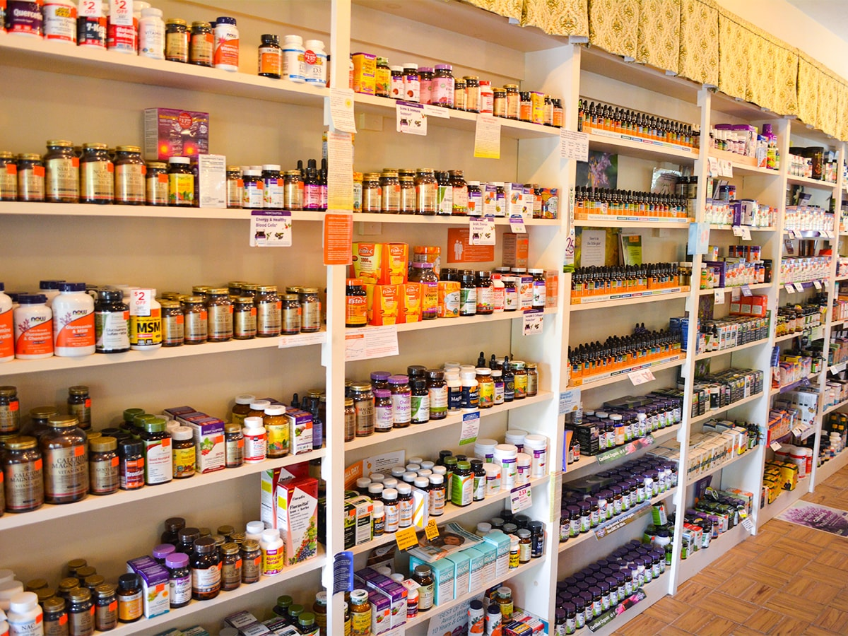 Supplements Wall