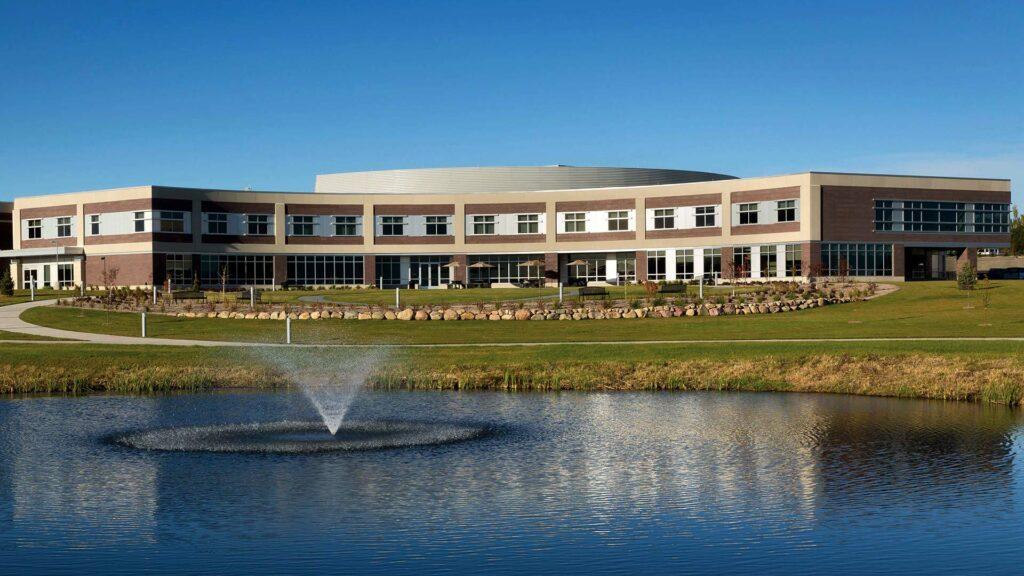 Sioux Center Health Fountain