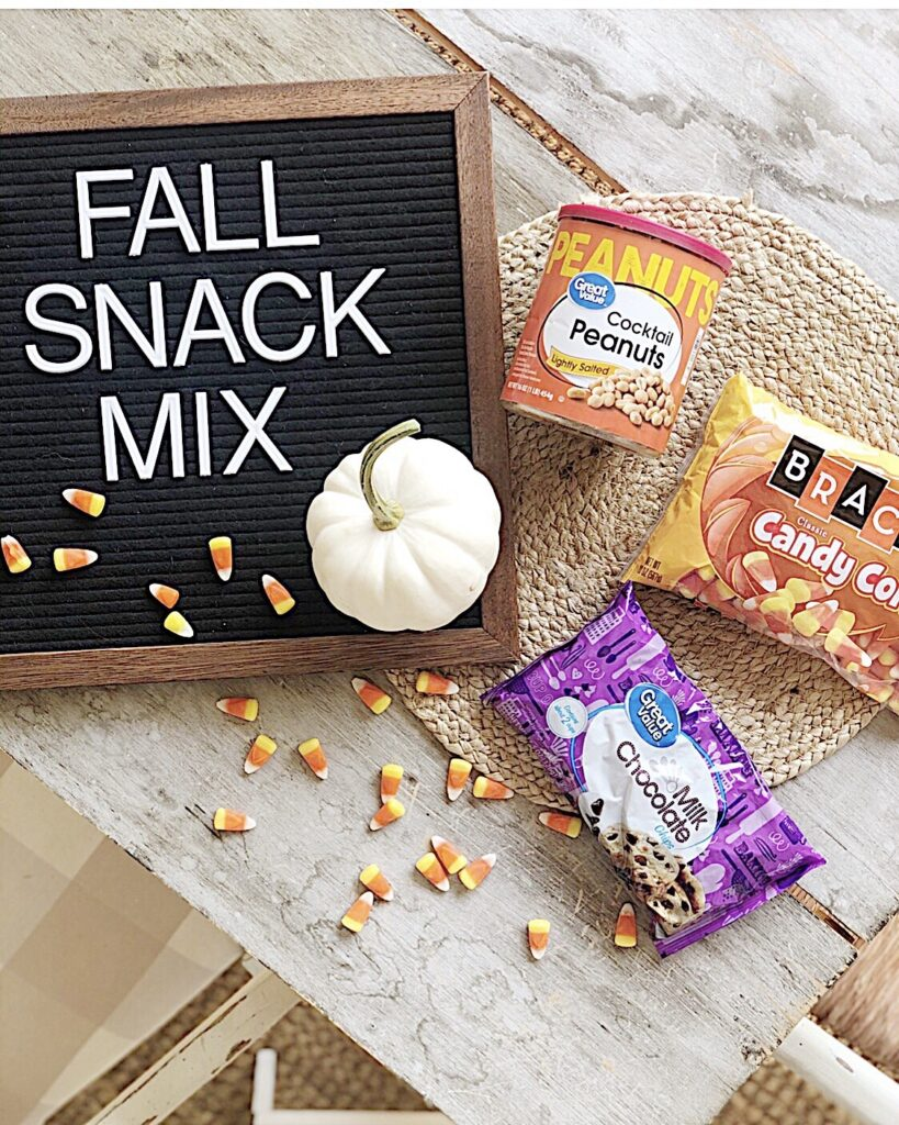 fall snack mix ingredients