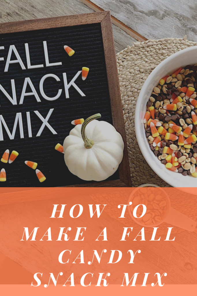 how to make a fall candy snack mix
