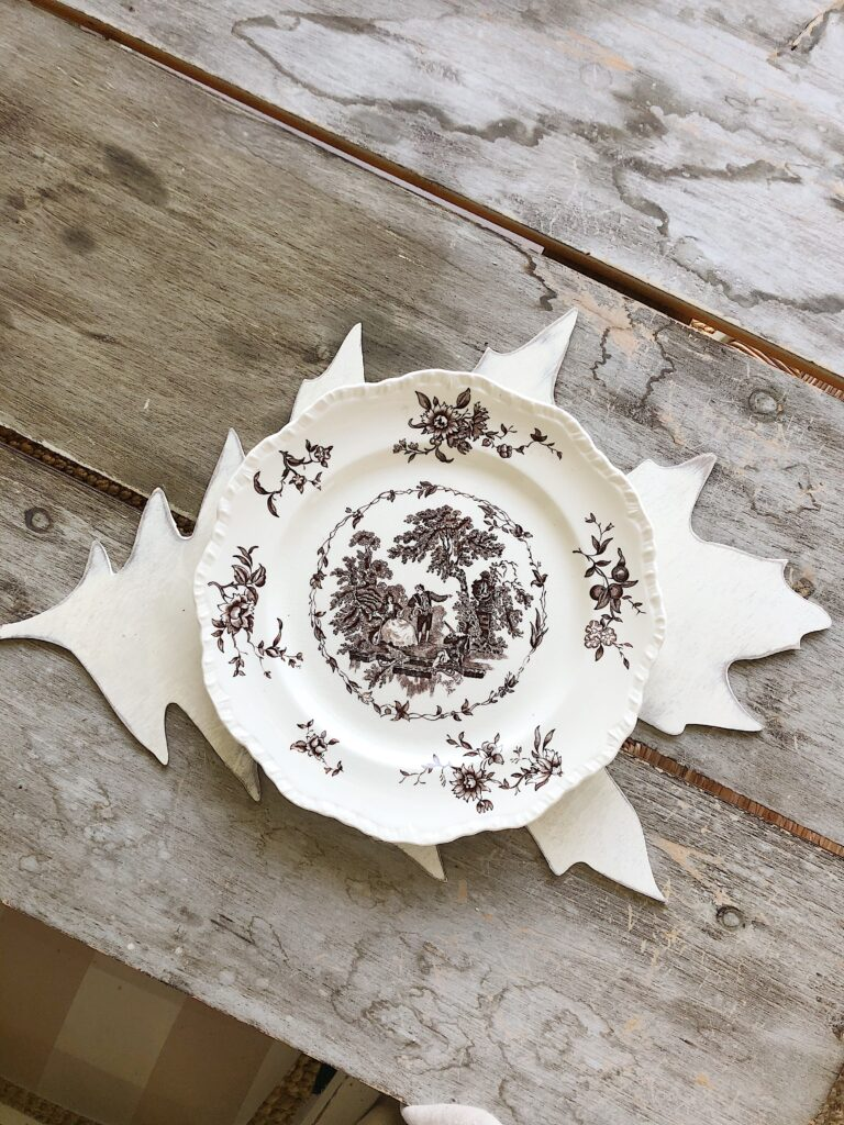 leaf plate charger