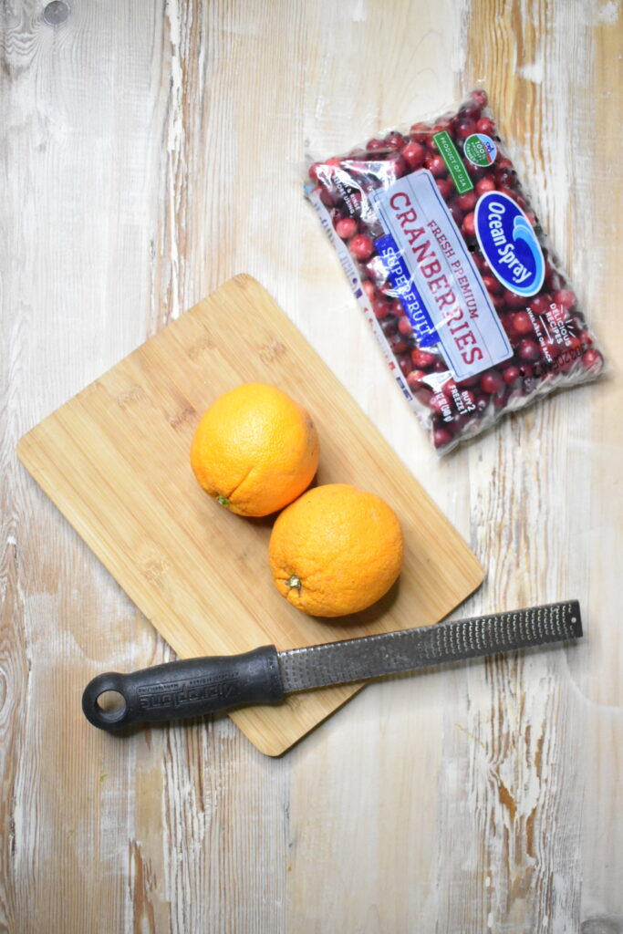 homemade cranberry sauce ingredients