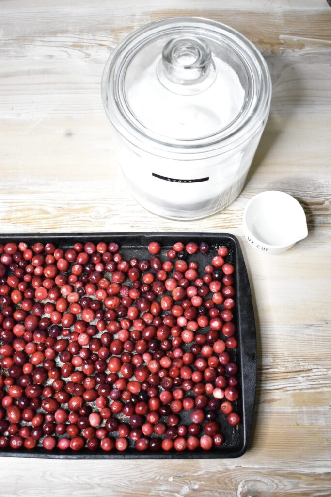 homemade cranberry sauce directions