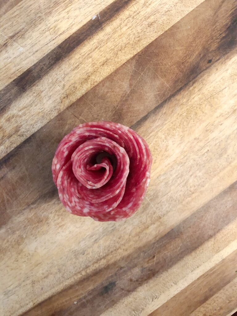 pepperoni rose