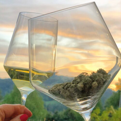 It's Wine and Weed Week, Y'all