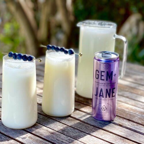 Creamy Lavender Lemonade: Featuring Gem + Jane
