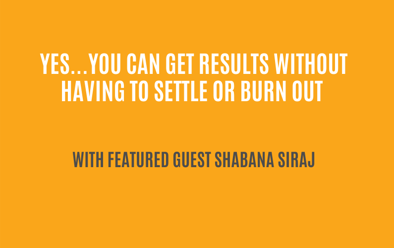 Upside-Down Burnout Recovery   with Shabana Siraj, CEO of Trident Consulting  Ctrl+Alt+Delete with Lisa Duerre