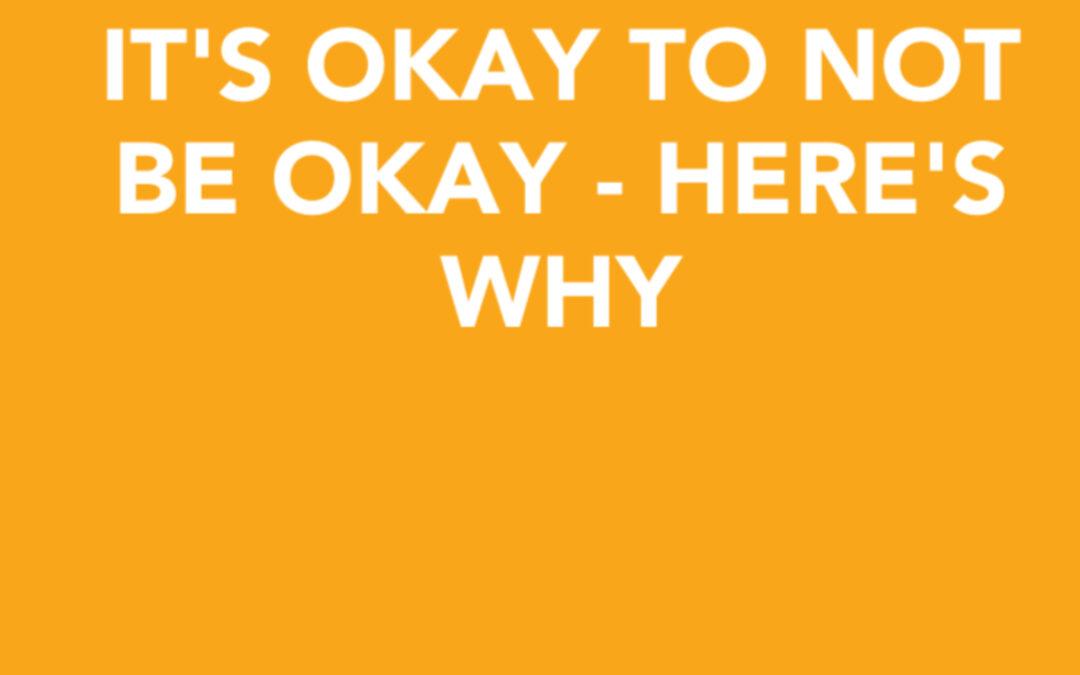 Psst…It's okay not to be okay…Here's why | Rachel Druckenmiller | Ctrl+Alt+Delete w/ Lisa Duerre Here's the deal – It is okay not to be okay, and it's time we talk about it.