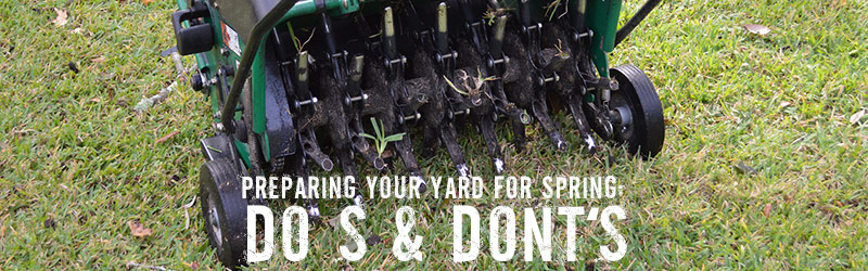 Preparing Your Yard For Spring: Do's & Don'ts