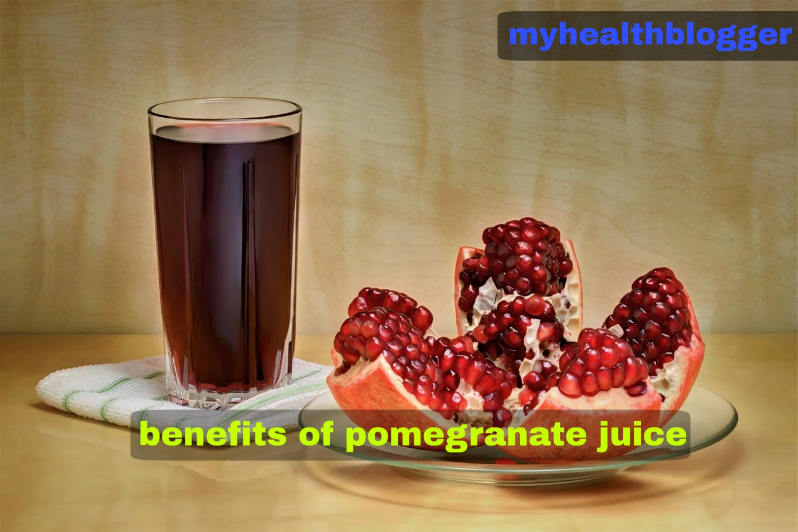 benefits of pomegranate and its juice