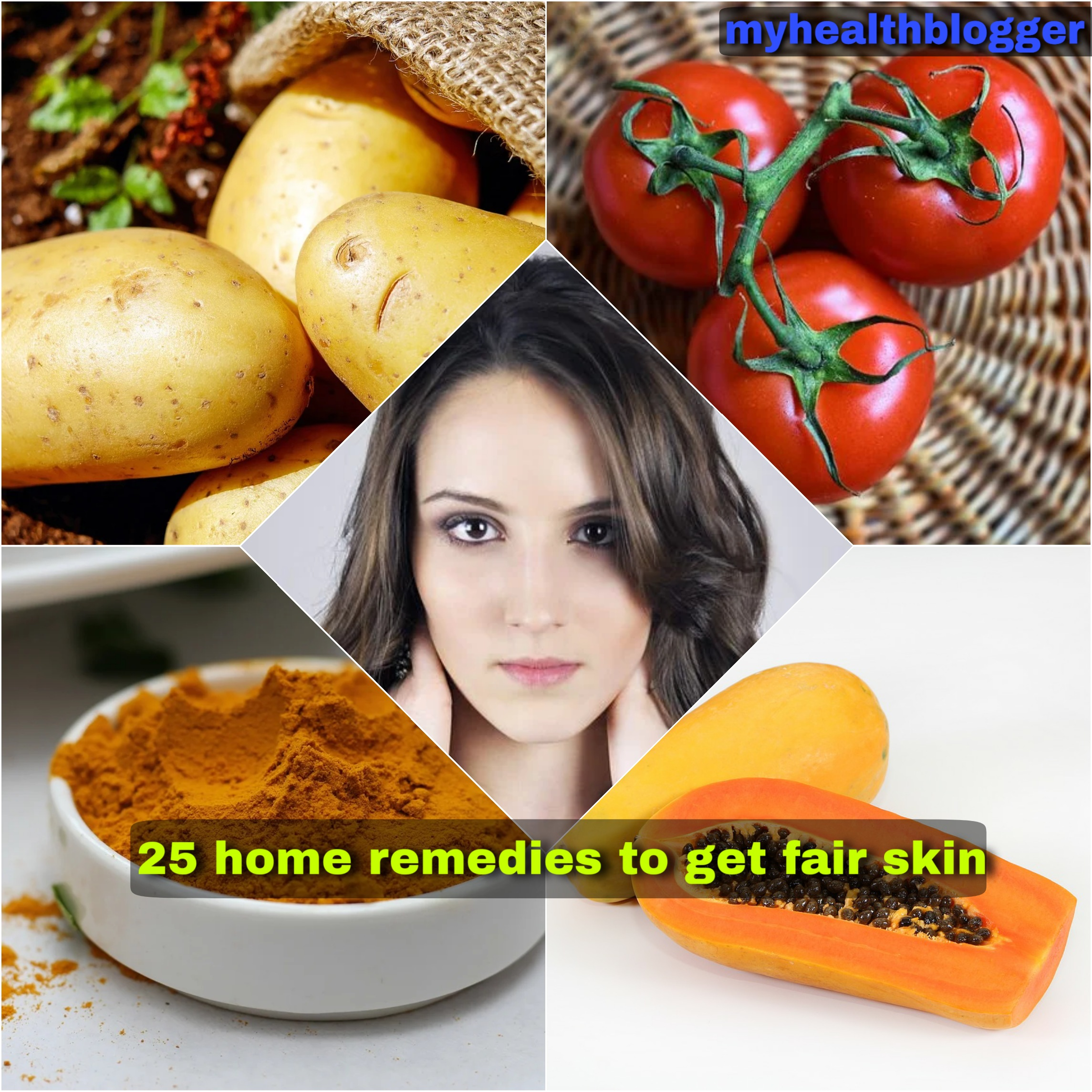 home remedies to get fair skin