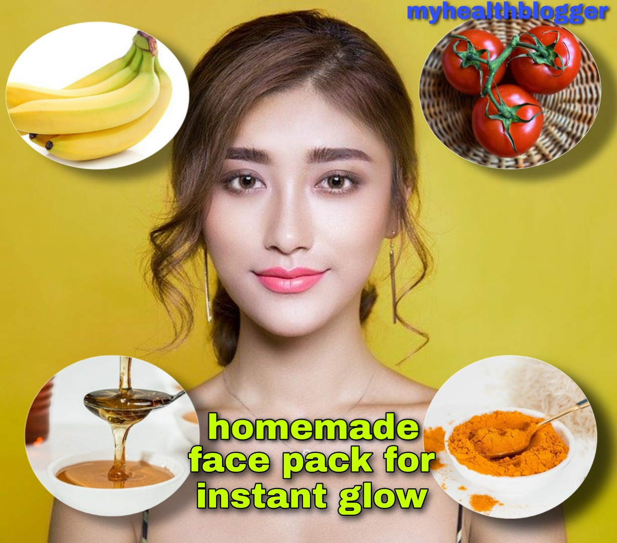 Homemade Face pack for Instant Glow