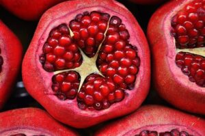 Pomegranate for Pink Lips