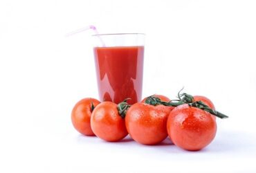 Tomato juice is in high blood pressure