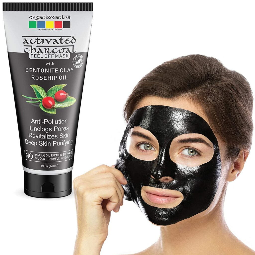 Organics Mantra Activated Charcoal Peel-off Mask