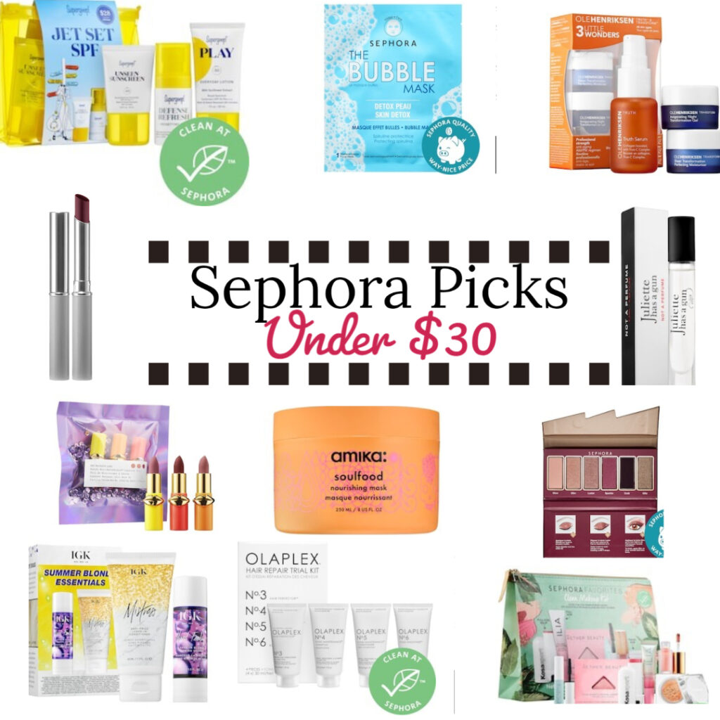 Sephora Picks under $30