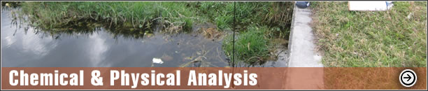 Chemical & Physical Analysis - Sediment Analysis, Water Quality