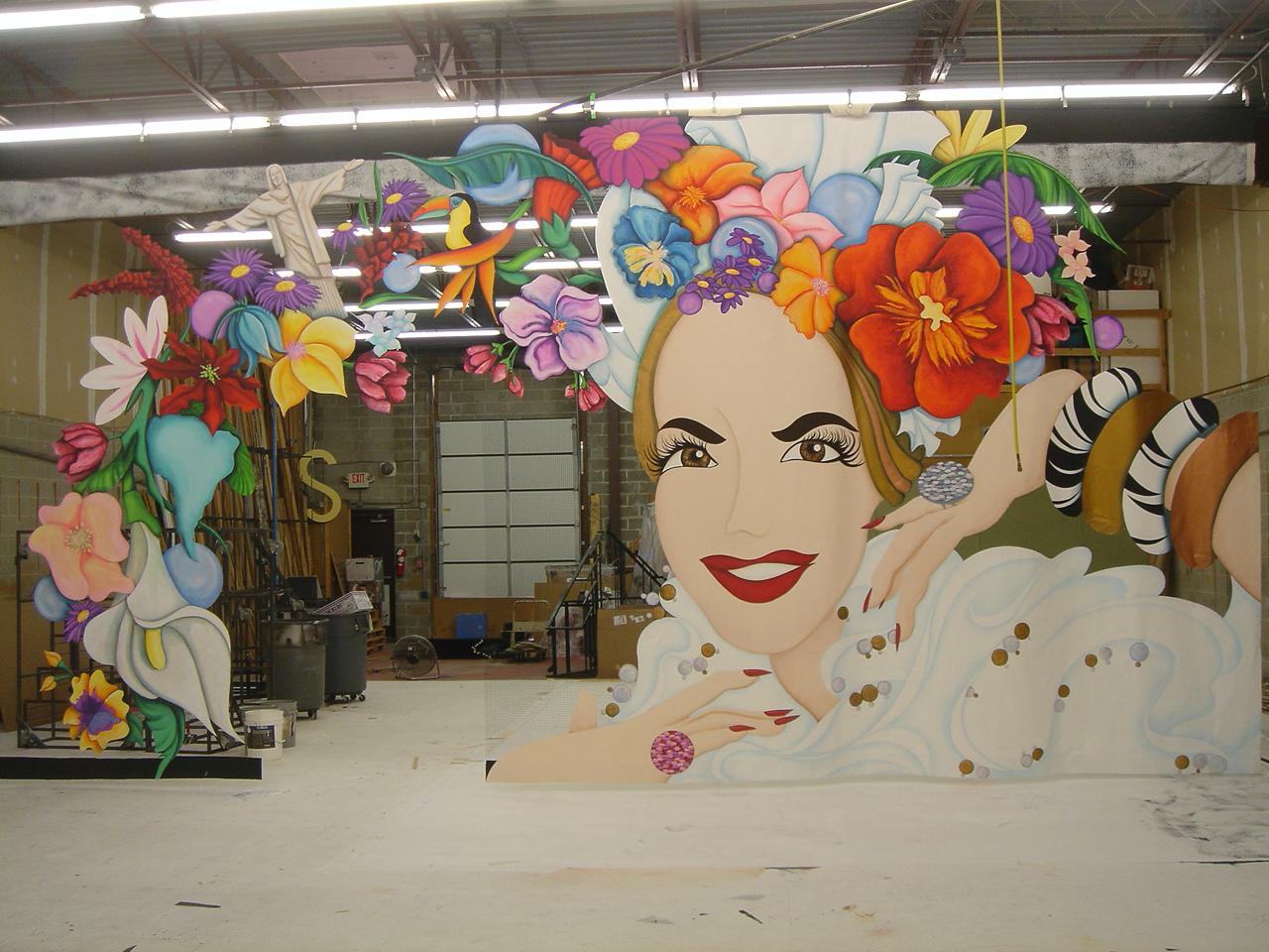 Carmen Miranda Set Piece