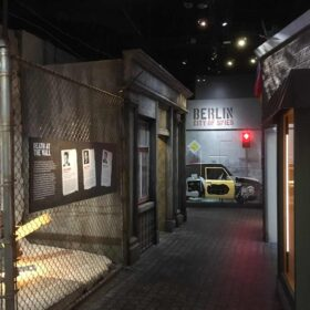 International Spy Museum - Border Entrance