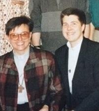 Reverend Christine Pasinski and Reverend Nancy Smiegowski