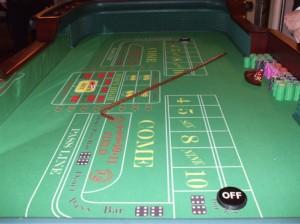 Casino Craps Tables