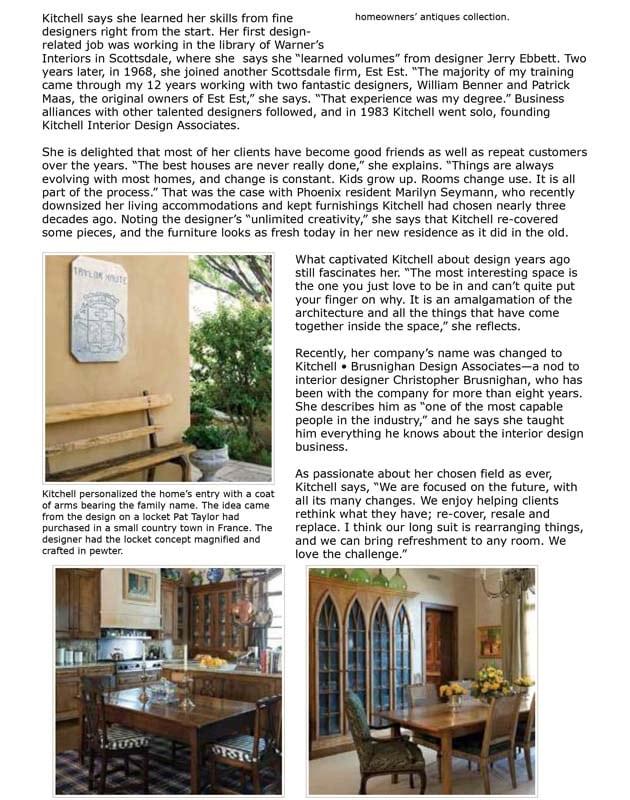 Retrospective: Nancy Kitchell - Phoenix Home & Garden