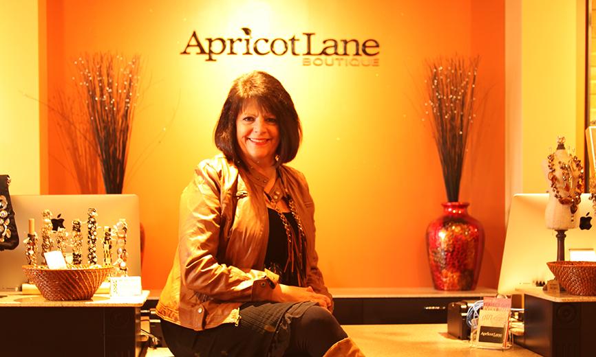 ApricotLane woman sitting