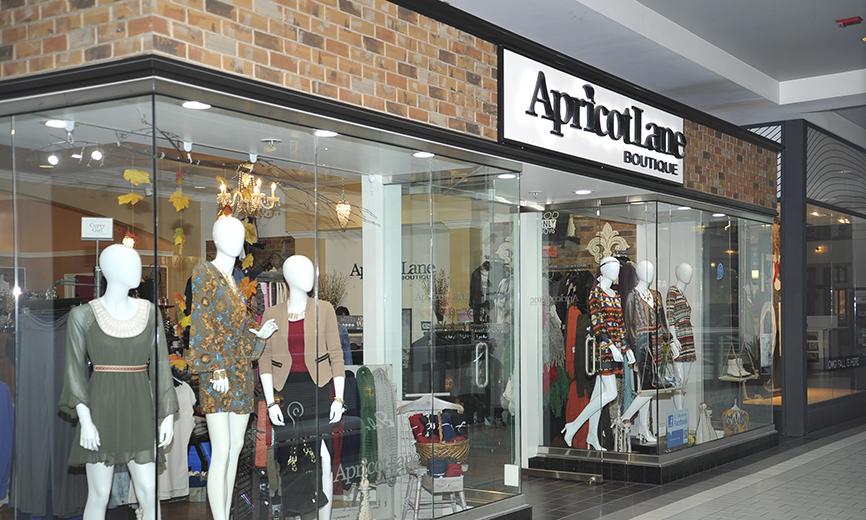 Inside Apricot Lane Boutique