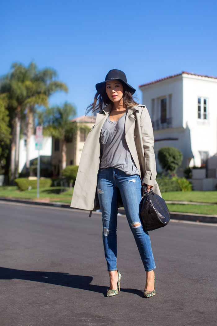 aimee_song_trench_coat_and_skinny_jeans