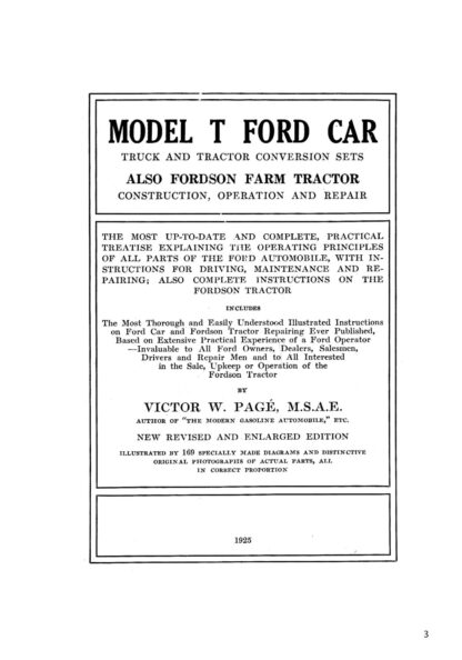 The Complete Ford Model T Guide image 1