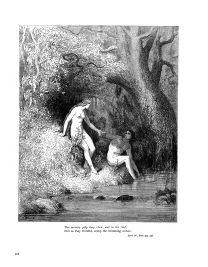 Milton's Paradise Lost: Gustave Doré Retro Restored Edition image 7