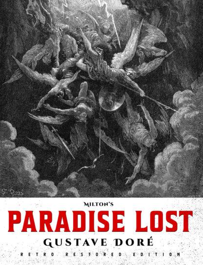 Milton's Paradise Lost: Gustave Doré Retro Restored Edition Front Cover