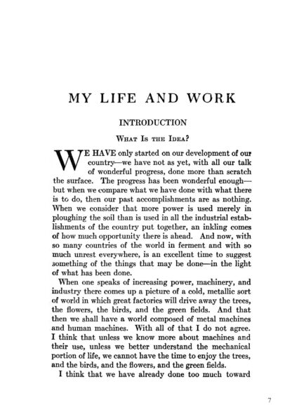 Henry Ford: My Life and Work - Enlarged Special Edition image 3