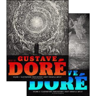Best of Gustave Doré 2-Volume Set: Illustrations from History's Most Versatile Artist Bundle