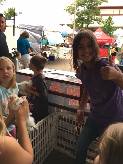 GH representing at Boulder County Fair