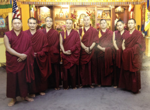 "Group picture of ""our"" monks"