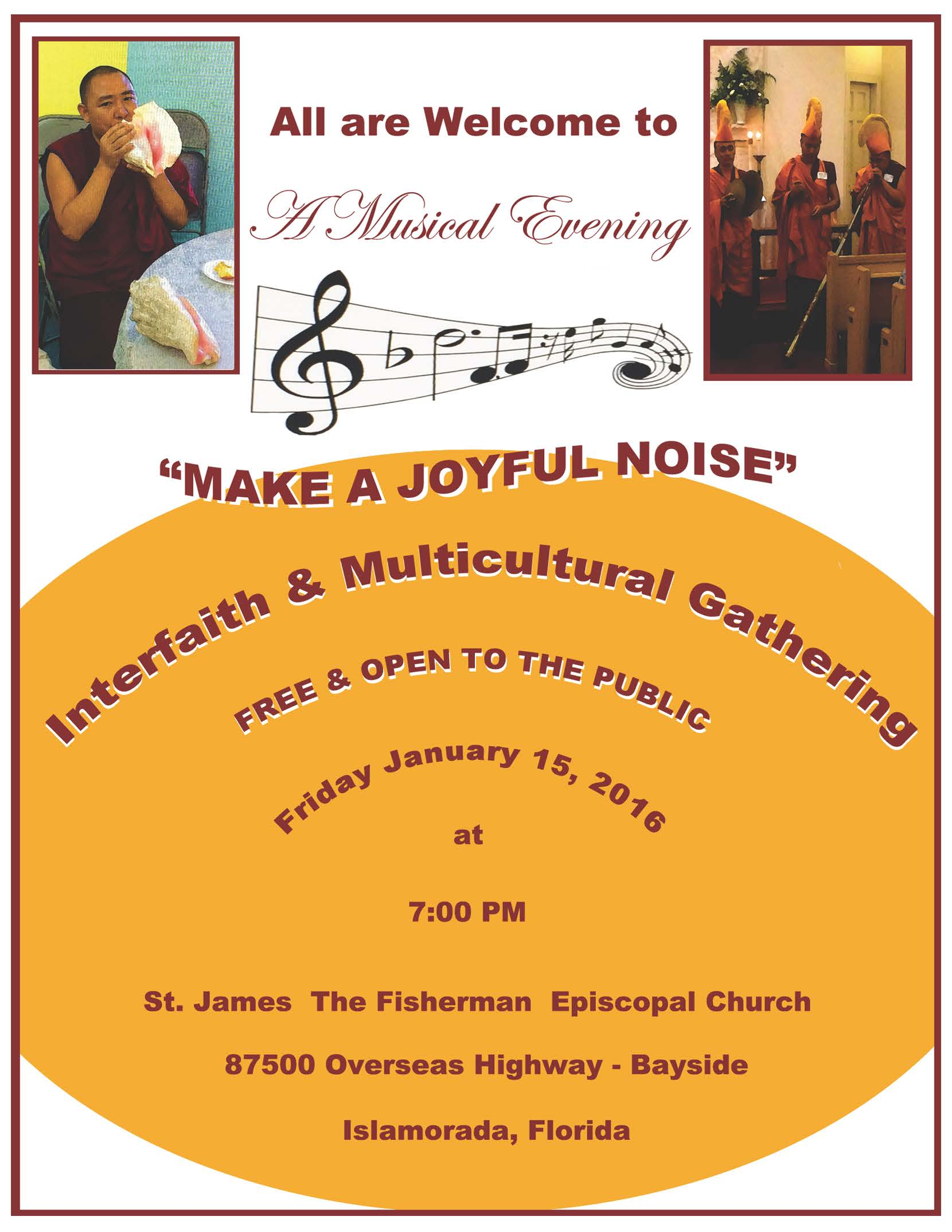 """Make a Joyful Noise"" concert"