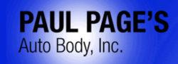 Paul Page Auto Body logo