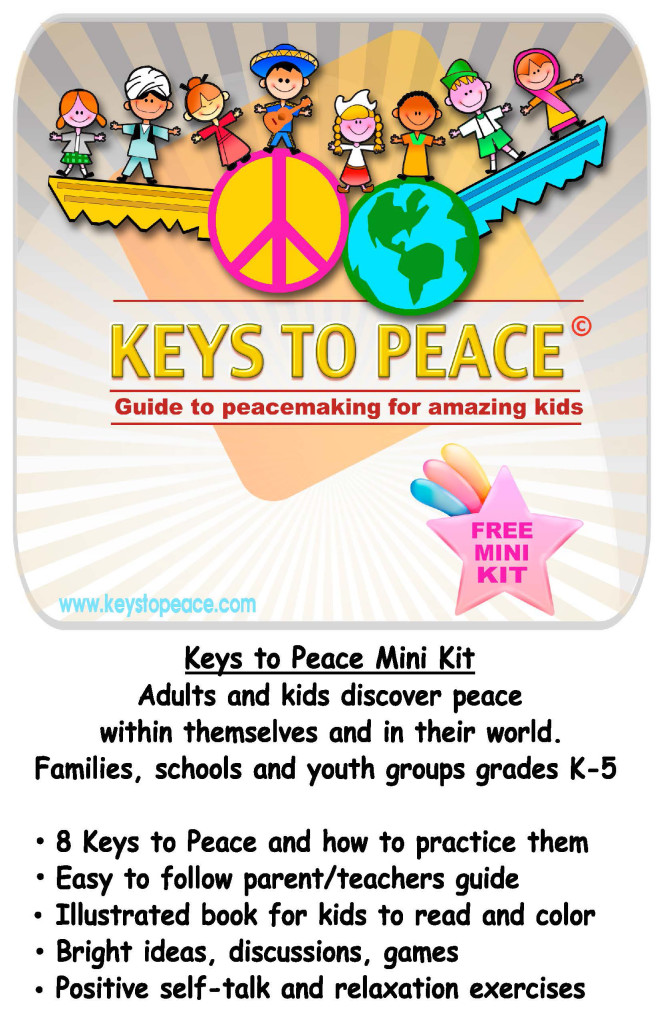 Keys to Peace (Card front)