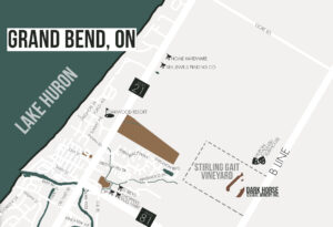 Map- Dark Horse Estate Winery in Grand Bend, ON