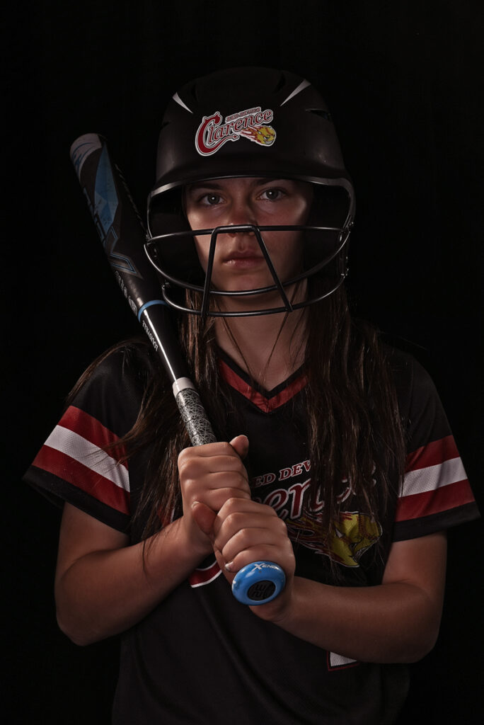 Brianna Athlete Softball Portrait