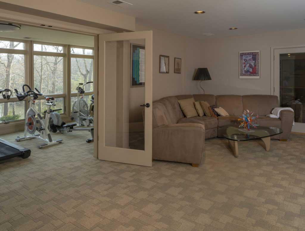 Building Your Dream INC Timonium, Maryland Home Addition Gym