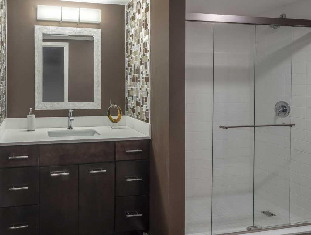 Building Your Dream INC Timonium, Maryland Modern Bathroom and Shower