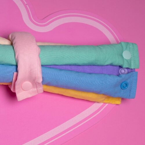 Rainbow Pastel cotton
