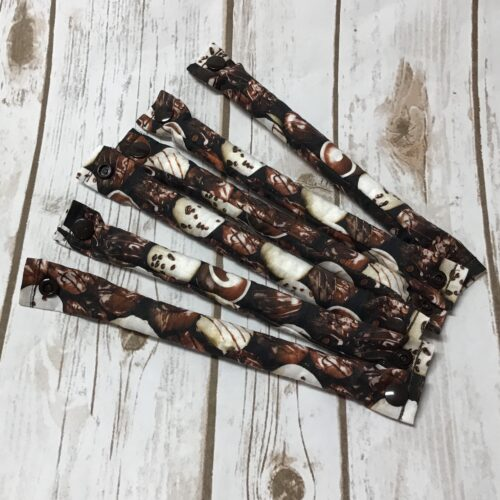 Chocolate BonBons Hair Rollers 3/4 inch