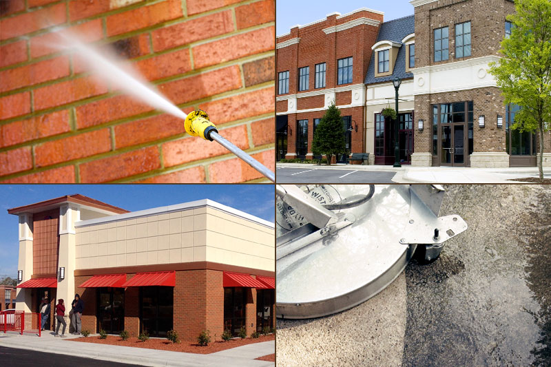 Commercial Power Washing Columbia SC